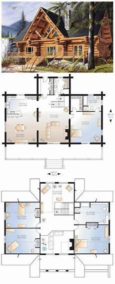 new 4 bedroom log home floor plans new home plans design