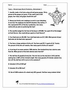 percentage word problems worksheets with answers 11172 29 printable math worksheet forms and templates fillable sles in pdf word to