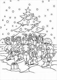ausmalbild weihnachten feiern geschenke f 252 r alle