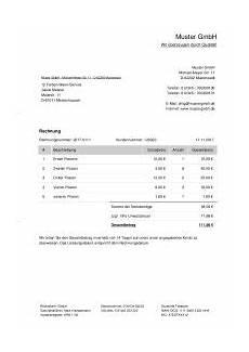 rechnungsvorlage f 252 r handwerker oder
