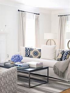 unique blue and white living room design ideas