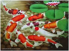 Lukisan Feng Shui Makna Lukisan Ikan Koi