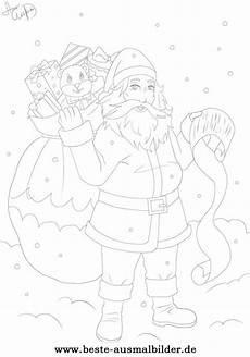 ausmalbilder mit zahlen weihnachten