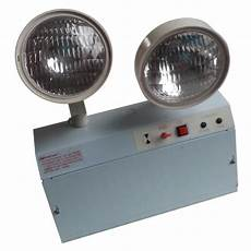 3 hours operation rechargeable led emergency twin spot