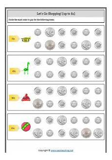 identifying paper money worksheets 15693 counting money worksheets australian coins notes easyteaching net