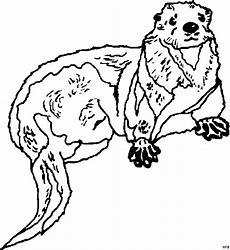 Malvorlagen Jahreszeiten Kostenlos Nd Otter Liegend Ausmalbild Malvorlage Tiere