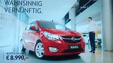 Opel Karl Werbung