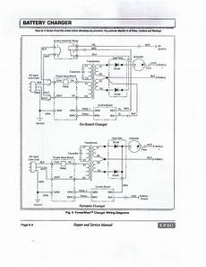 golf cart charging system diagram wiring diagram powerwise 2 ez go charger
