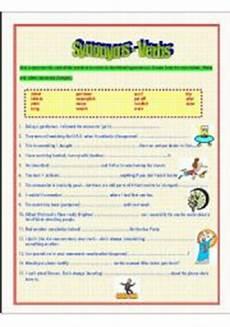 synonym verbs esl worksheet by zhlebor