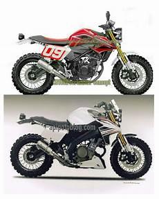Vixion Modif Cb by Konsep Modifikasi Scrambler Honda Cb 150 R Vs Yamaha