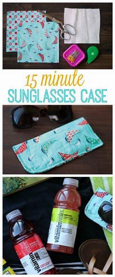 15 Minute Sunglasses Tutorial An Easy Sewing Project