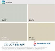 sherwin williams favorite colors sea salt city loft worldly gray and rice grain french