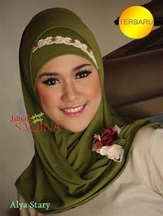 Jilbab Instan Pesta Saqina Yang Bagus