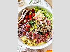 tortellini salad with thai dressing_image