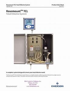 total chlorine analyzer system total chlorine analyzer system