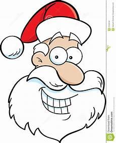 Malvorlage Weihnachtsmann Kopf Weihnachtsmann Kopf Vektor Abbildung Illustration