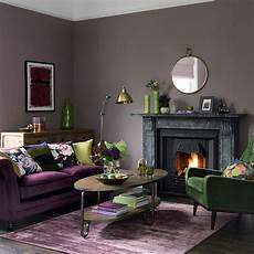 Purple Green Living Room green living room ideas for soothing sophisticated spaces
