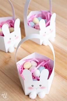 printable bunny easter baskets houseful of handmade