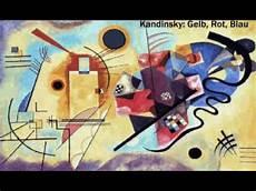 gelb rot blau kandinsky yellow blue gelb rot blau as 3d animation