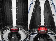 Elon Musk Shares Pictures Of His Tesla Roadster Ready