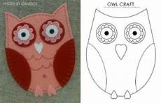 eule basteln vorlage lovely owl craft