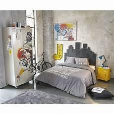 tete de lit grise t 234 te de lit grise l140 skywalk maisons du monde