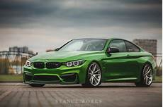 java green bmw m4 with hre p104 wheels