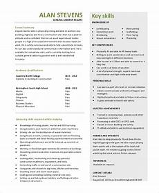 free 9 general resume objective sles in pdf