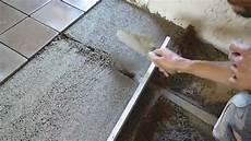 chantier pose carreaux terre cuite artisanaux 02