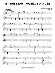 by the beautiful blue danube sheet music johann strauss ii piano solo