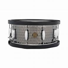 wood hoop snare gretsch 6 5 quot x 14 quot range hammered steel snare drum with wood hoops s1 6514wh bsh