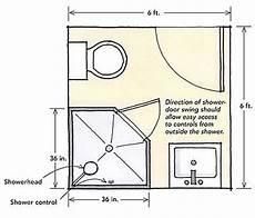 Bathroom Floor Plans 6 X 8 by Small Bath 6x6 For The Home Bath
