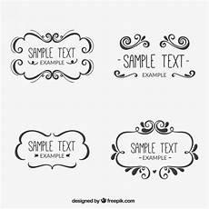 cornici illustrator cornici ornamentali scaricare vettori gratis