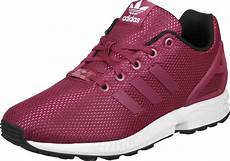 adidas zx flux k w shoes pink white