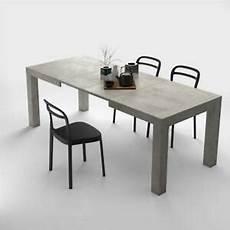 Esstisch Modern Ausziehbar - modern extendable dining table iacopo color concrete