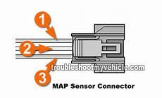 honda civic map sensor wiring part 3 how to test the map sensor 1 6l honda civic