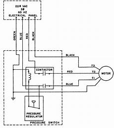 Industrial Compressor 3 Phase Wiring Diagram by Figure 2 7 Air Compressor Wiring Diagram