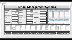 how to create school management systems in ms access with form using vba full tutorial youtube
