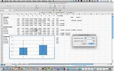 Adding Custom Error Bars In Mac Excel 2008
