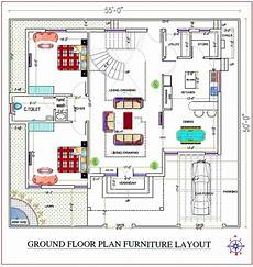 west facing house plan as per vastu 55x50 west facing vastu house plan