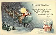 a merrie christmas i m wishing you a merry christmas in a real old fashioned way santa claus