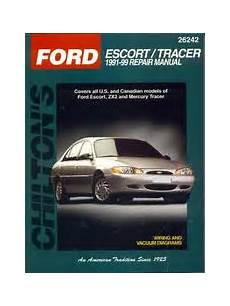 ford probe online repair manual for 1990 1991 1992 1993 1994 1995 1996 and 1997 by chilton s ford escort tracer 1991 99 repair manual 2000 edition open library