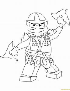 the green lego ninjago coloring page free coloring