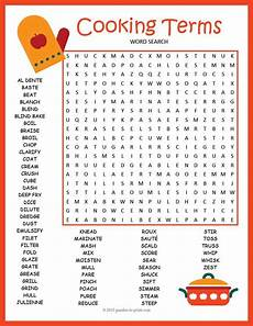by brenda blankenship culinary crafting word puzzles puzzle vocabulary worksheets
