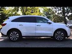 2016 acura mdx sh awd with technology package youtube