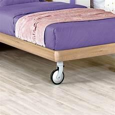 letti con rotelle letti singoli con ruote con pouf letto singolo o piazza e