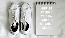 5 easy techniques of how to remove yellow stains out of white shoes