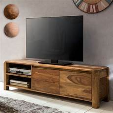 finebuy lowboard massivholz kommode 140 cm tv board