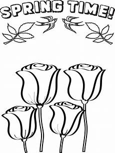 free printable flowers coloring page for