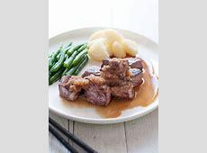 Diced Beef Steak (Saikoro Steak) with Japanese Style